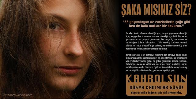 kadın istismarı, dünya kadınlar günü, 8 mart,