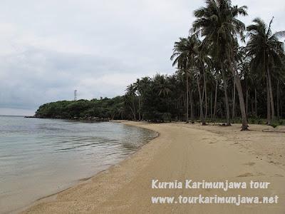 pantai pasir putih nirwana karimunjawa
