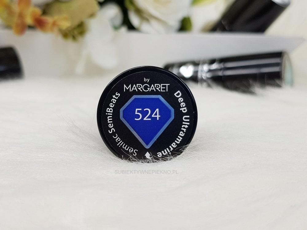 DEEP ULTRAMARINE SEMILAC 524 | Piękny kobalt na paznokciach