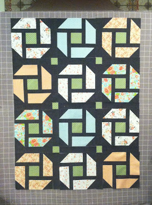 Fat Quarter Quilt, Cheerful Quilt, Throw Quilt