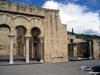 Edificio Basilical Superior, en Medina Azahara - Córdoba