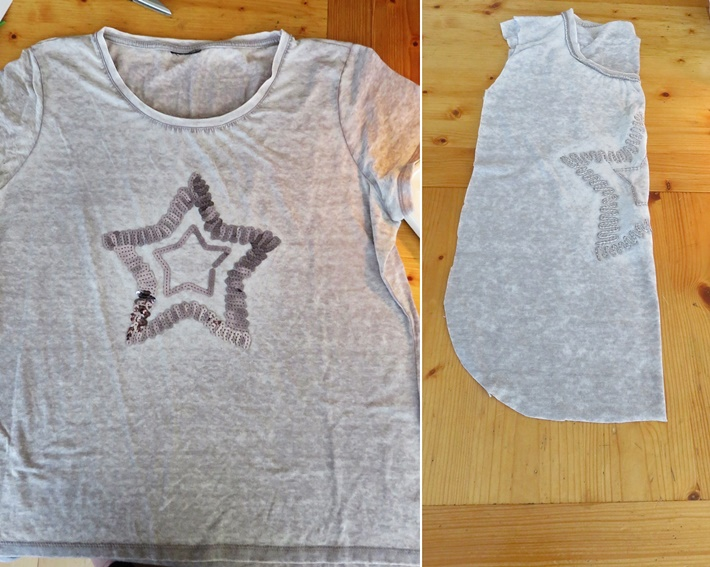 T-Shirt Upcycling - Stofftasche naehen