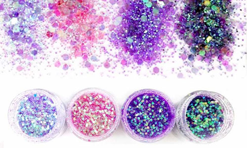 Glitter o purpurinas de colores