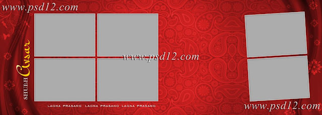 10x28 Vidhi Wedding Photo Album Templates Vol-2