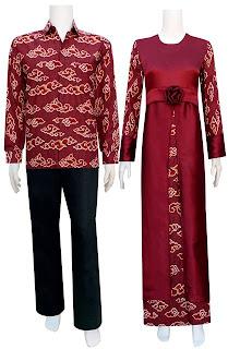 Batik Couple Lengan Panjang