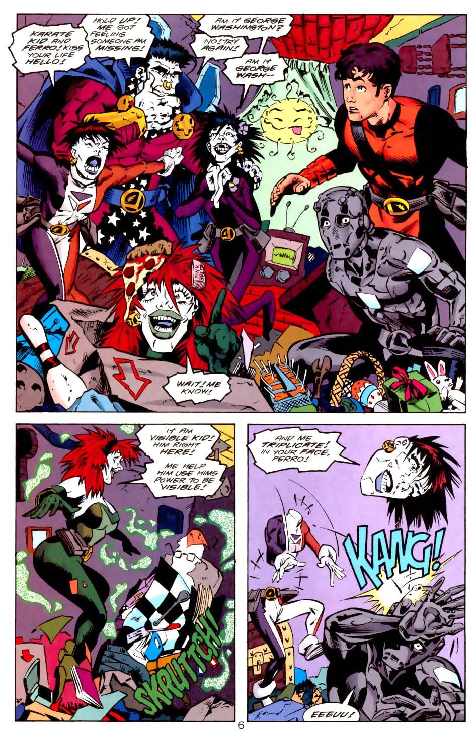 Legion of Super-Heroes (1989) 114 Page 6