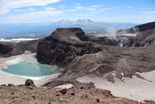 вулкан горелый камчатка