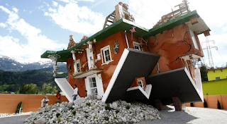 Το ανάποδο σπίτι της Αυστρίας, αντέχετε να μην ζαλιστείτε;