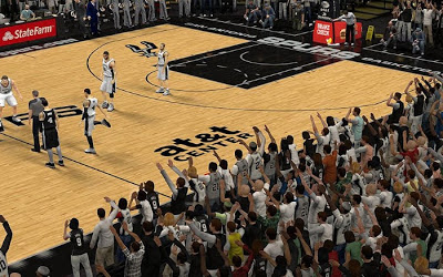NBA 2K13 San Antonio Spurs Crowd Fix