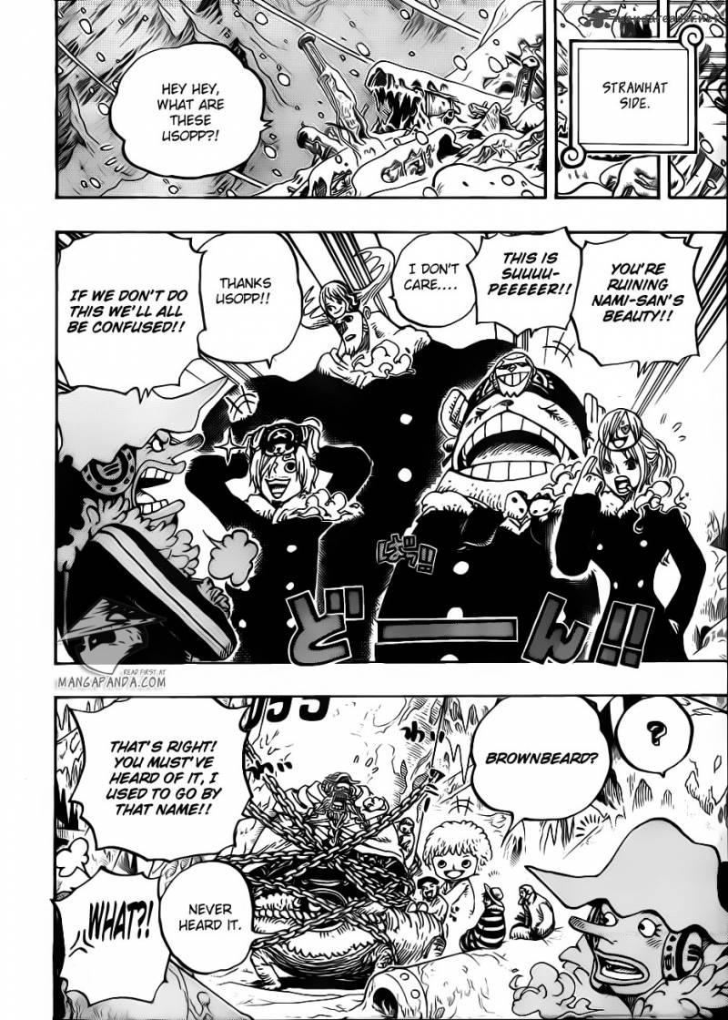 One Piece 664 Master Ceasar Clown