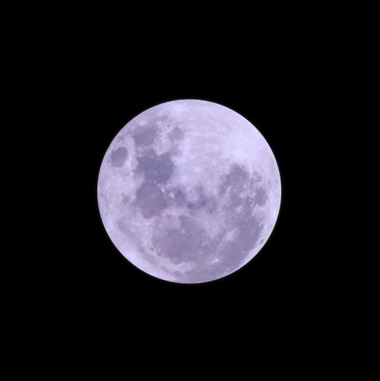 Vector e imagen normal de la luna de tipo realista