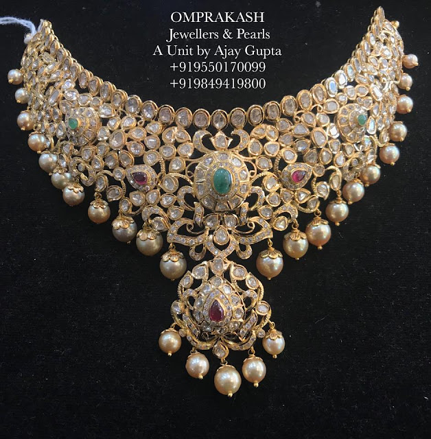 Exclusive Pachi Choker by Omprakash Jewellers
