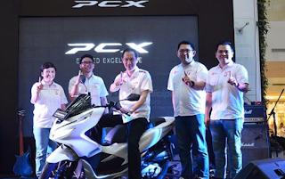 Launching honda PCX Paskal 23 Bandung