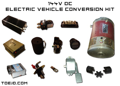 toejo - 144v electric vehicle conversion kit