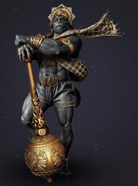 Hanuman HD Mobile Wallpaper