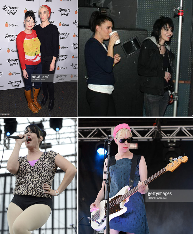 Joan Jett 2013 e The Julie Ruin 2015