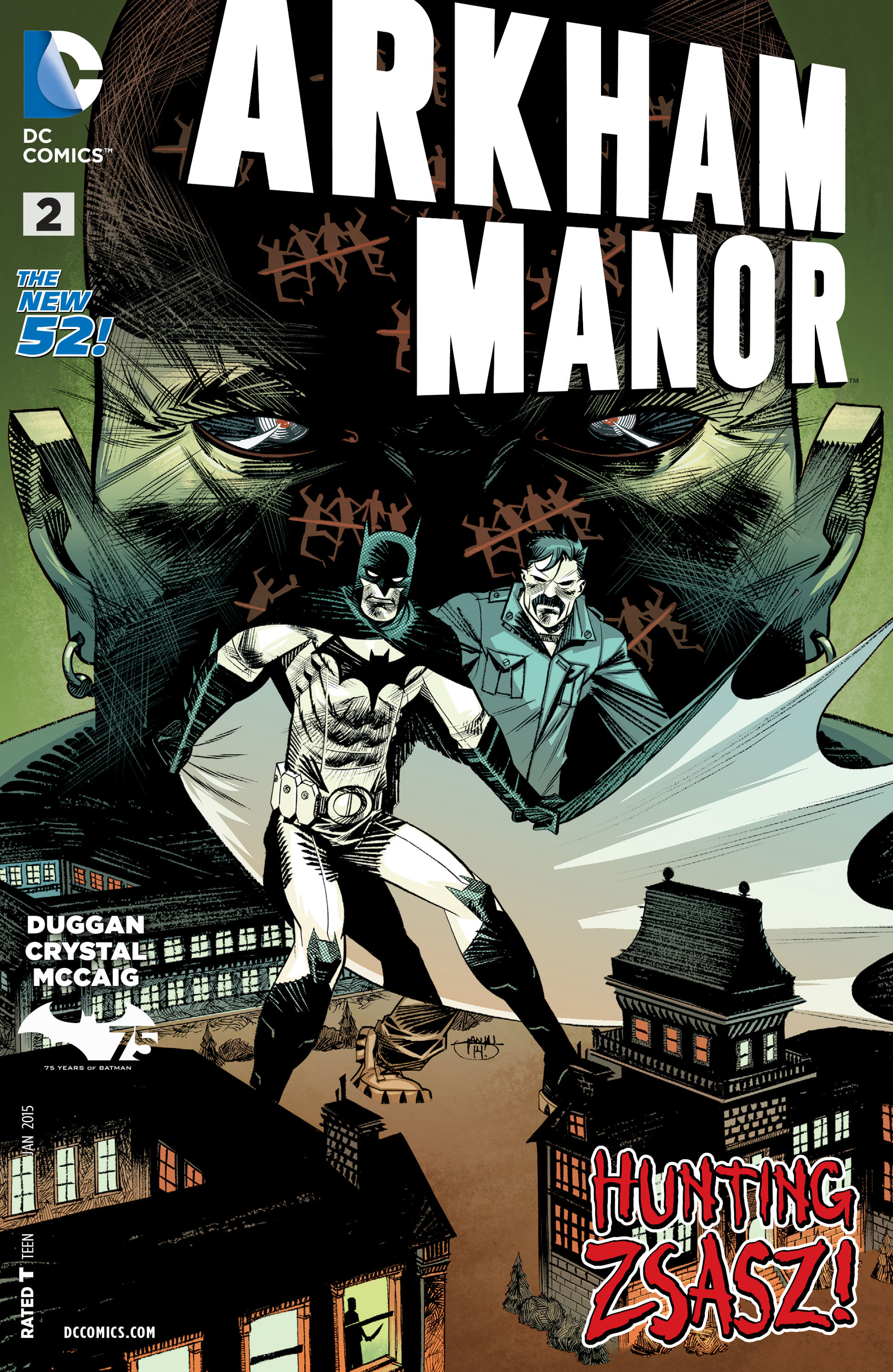 Read online Arkham Manor comic -  Issue #2 - 1