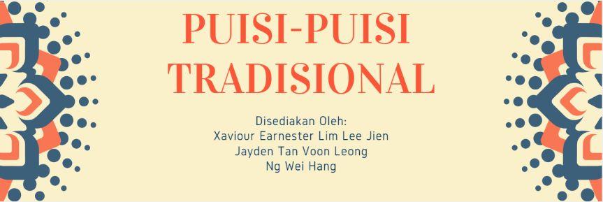 Puisi Puisi Melayu Tradisional