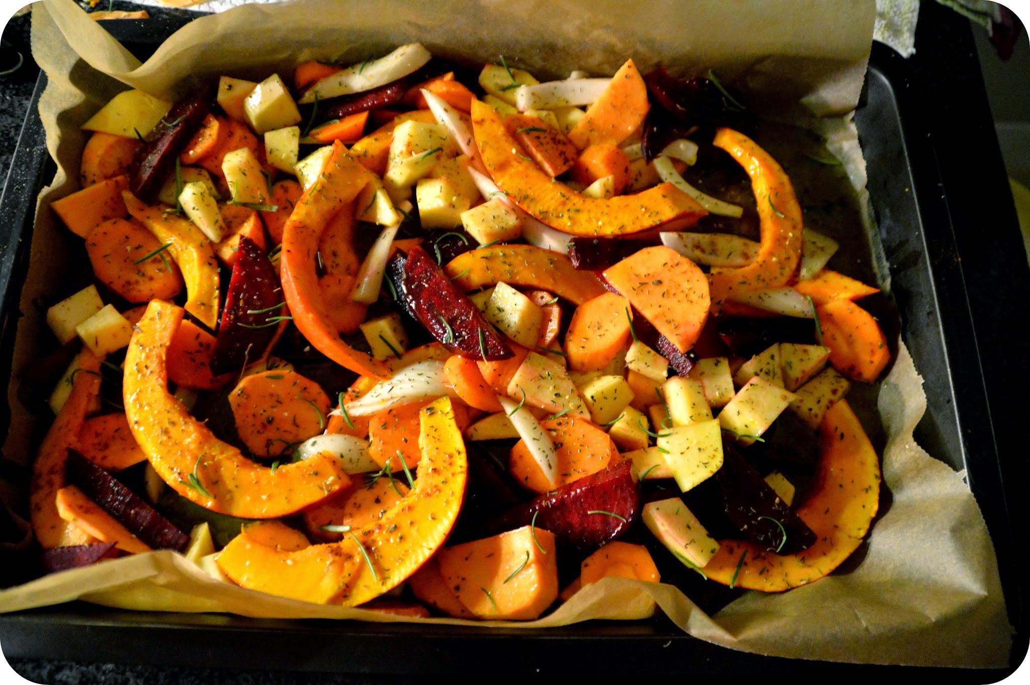Herbstliches Backofengemüse