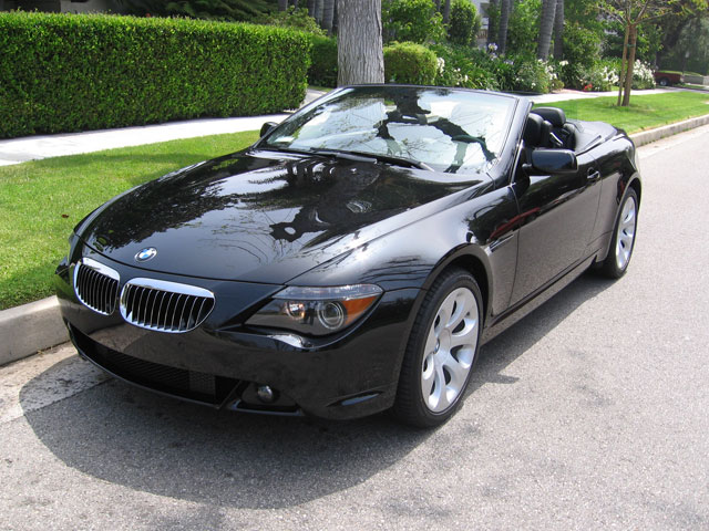 The Bmw 6 Series Was Relaunched In 2004 With 645i This Car A Two Door Four Penger Luxury Sports