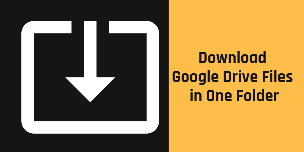 download entire google drive folder