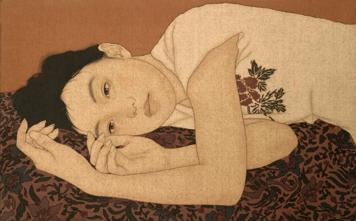 Древняя японская традиция. Ikenaga Yasunari 21