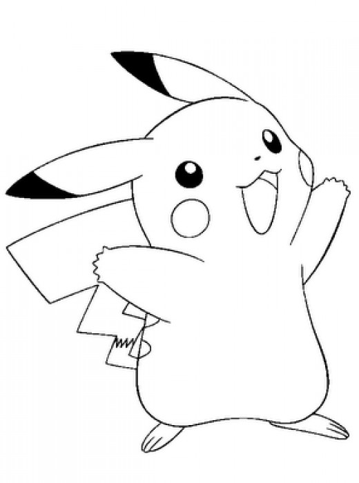 Fun Coloring Pages: Pokemon and Pikachu Coloring Pages