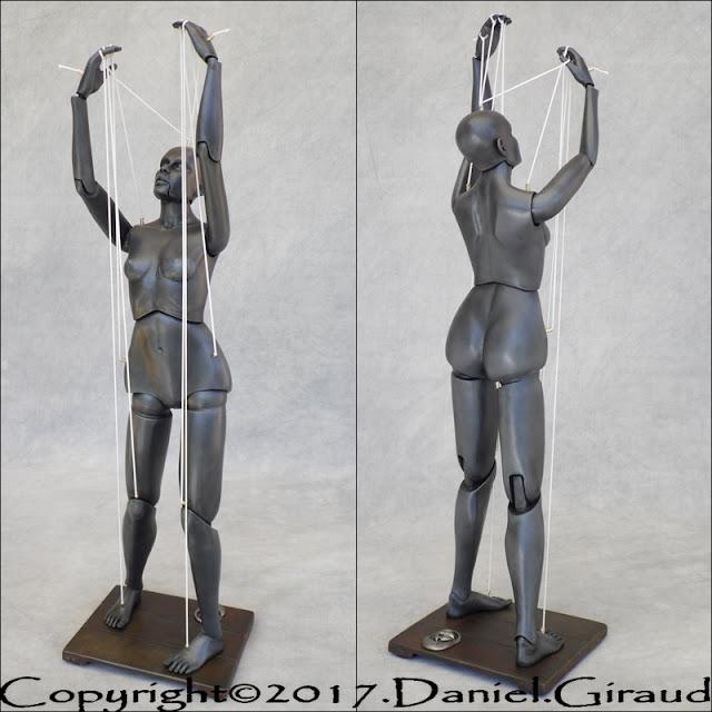 sculpture marionnette puppet