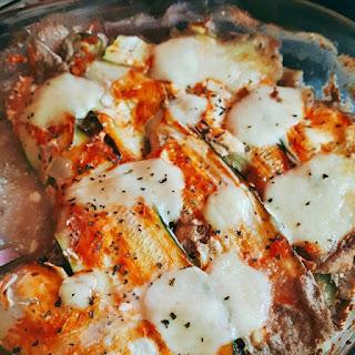 recette lasagnes de courgettes rééquilibrage alimentaire