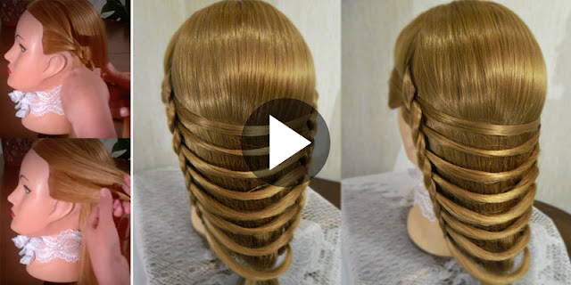 Learn - How To Create Weaving Bridge Hairstyle, See Tutorial