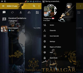 BBM Mod Trafalgar Law V3.2.5.12 Apk
