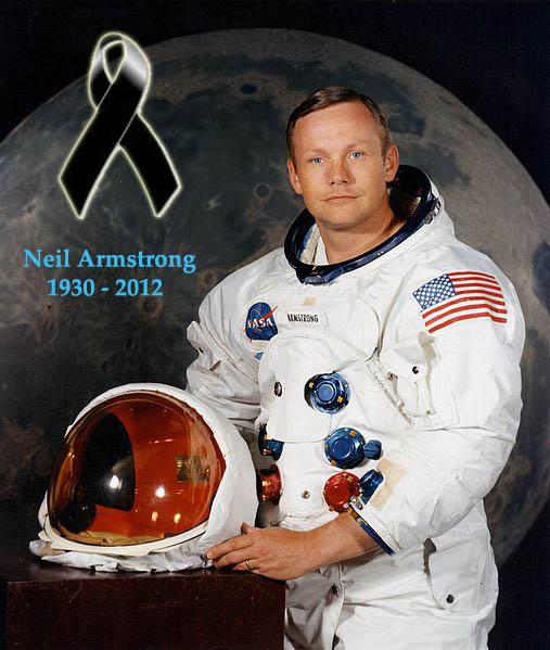 Murió Neil Armstrong, el primer hombre en pisar la Luna