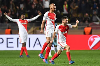 Monaco defect Manchester city