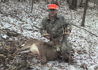 Using The Terrain To Harvest A 13 point Ohio Buck - Story of my 2008 hunting season. 2