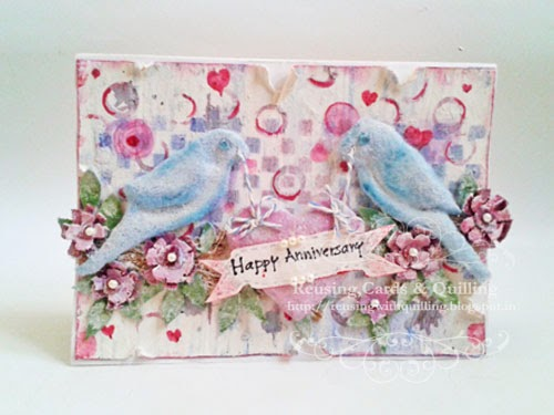 http://reusingwithquilling.blogspot.in/2014/02/happy-anniversary.html