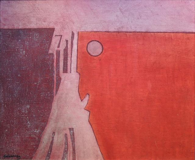 Cristóbal Gabarrón arte cuadro abstracto homenaje gaudí