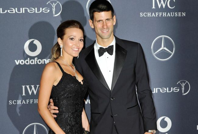 All About Sports Novak Djokovic And His Girlfriend In These Pictures And Wallpapers