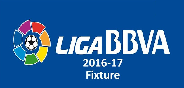 Spanish La Liga 2016-17 Schedule, Spanish La Liga 2016-17 Fixtures, Spanish La Liga 2016-17 Release Date, Spanish La Liga 2016-17 Matches
