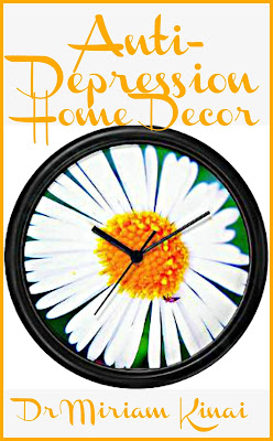 Anti-Depression Home Decor uses color pictures and clear explanations to teach you five key interior decorating ingredients so that you can choose home decor accents that are appropriate for an uplifting home decoration theme.  This interior design book also contains practical examples showing you how to decorate a living room, bedroom and bathroom with an Anti-Depression home decor theme and make it five dimensional.