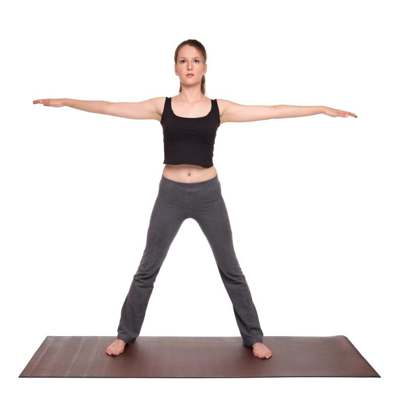Yoga Poses Five Pointed Star Utthita Tadasana