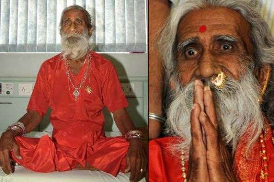 Unbelievable!! This Man Has Not Eaten or Drank Anything For Over 75 Years