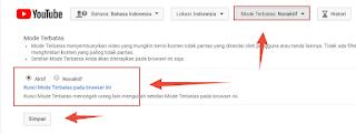 Cara Memblokir Situs Dewasa di Youtube