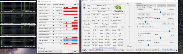 GPU Overclocking settings P0