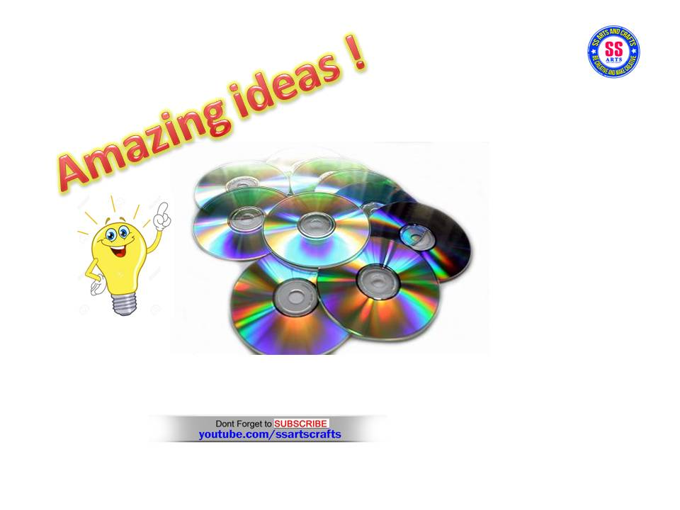 Amazing 5 Diy Recycled Old Cd Craft Ideas