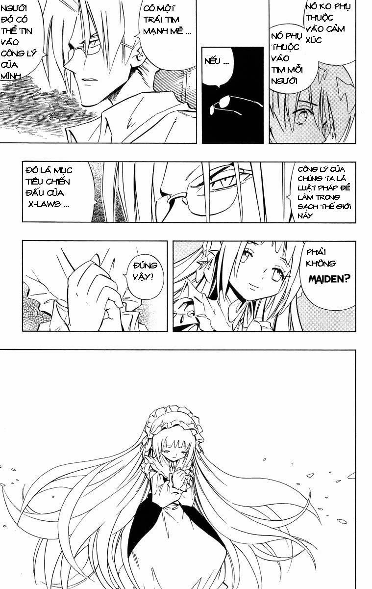 Shaman King [Vua pháp thuật] chap 229 trang 10