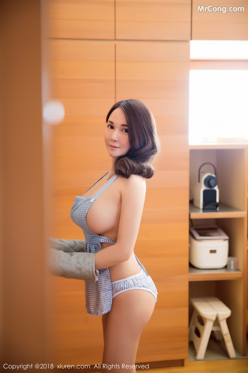 Image XIUREN-No.1268-miko-MrCong.com-002 in post XIUREN No.1268: Người mẫu 沈蜜桃miko (51 ảnh)