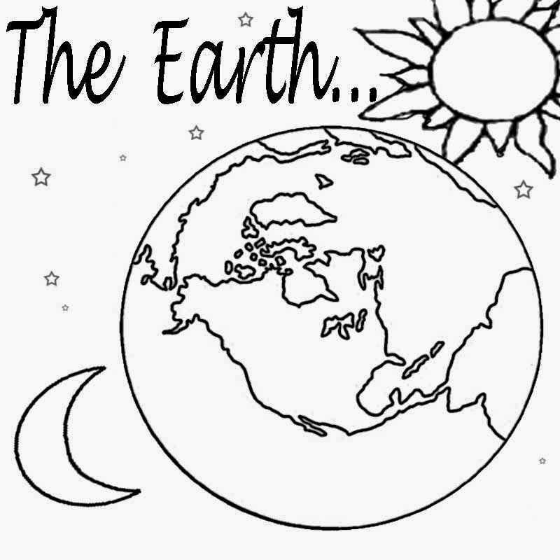 Free Printable Earth Coloring Pages For Kids | 800x800