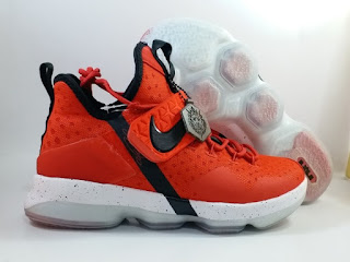 Nike LeBron 14 Red Brick Road Black  Jual Sepatu Basket Replika Import Premium