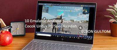 10 Emulator Android Super Ringan Cocok Untuk PC Spec Rendah