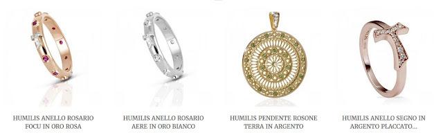 humilis colecoes sao francisco joias assis guia brasileira - Souvenir em Roma
